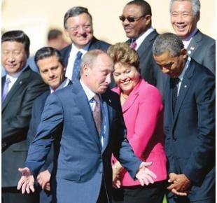 G20- PUTIN, OBAMA, DILMA