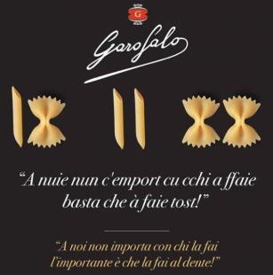 risposte a barilla pasta garofalo fake