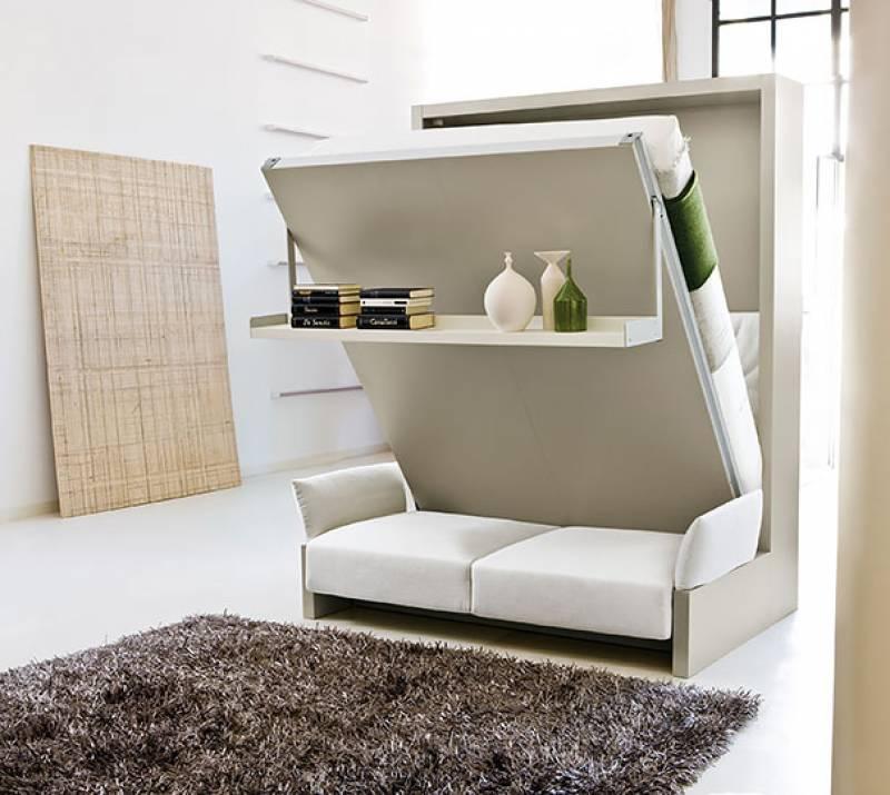 25 originali idee per risparmiare spazio nei vostri appartamenti - Mobili Per Trucco
