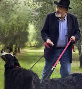 tiziano renzi con i cani