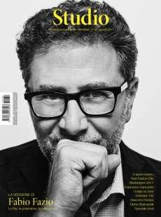 copertina rivista studio con fabio fazio