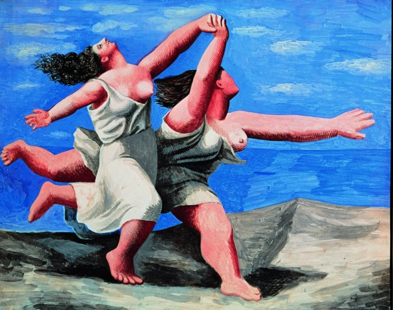 Picasso Paolo Vestito Da Arlecchino Dago Fotogallery