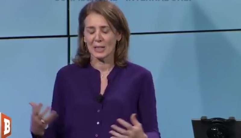 Ruth porat di google si mette a piangere per l elezione di
