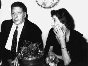 Giorgio e Germanine Amendola