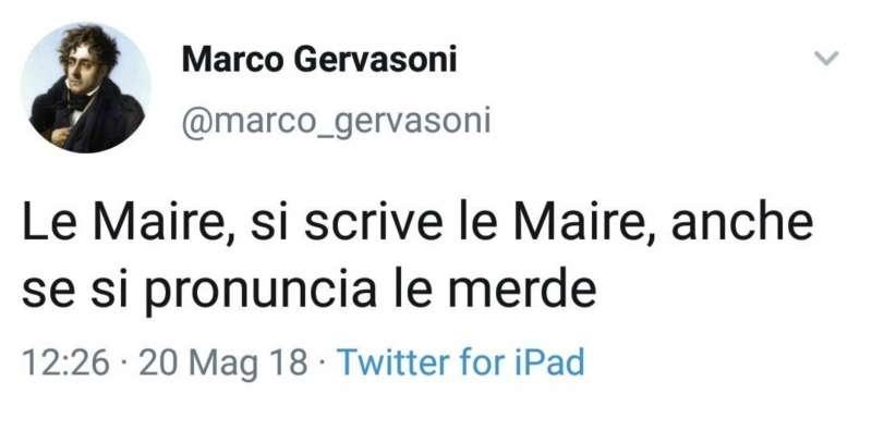 i tweet di marco gervasoni 1