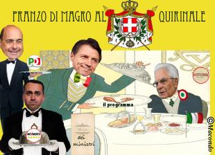 NICOLA ZINGARETTI LUIGI DI MAIO GIUSEPPE CONTE SERGIO MATTARELLA