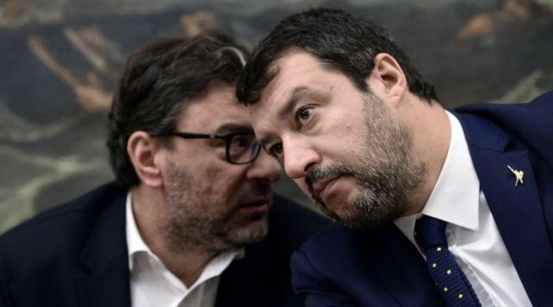 Giorgetti Salvini