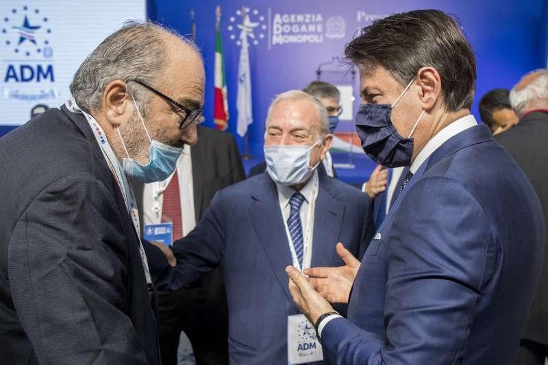 goffredo bettini gianni letta giuseppe conte