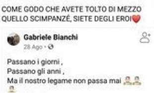 POST RAZZISTI SULLA MORTE DI WILLY MONTEIRO
