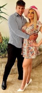 cipriani e il suo fidanzato alessandro