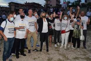 francesca filipponi con i candidati al municipio (1)