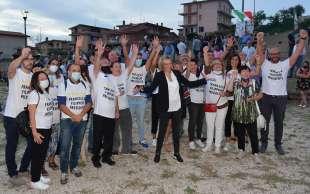 francesca filipponi con i candidati al municipio (2)