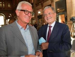 giuliano giubilei romano prodi foto di bacco