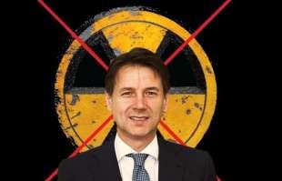 giuseppe conte contro il nucleare