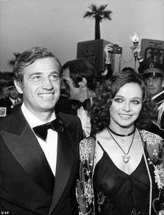 jean paul belmondo con laura antonelli nel 1974