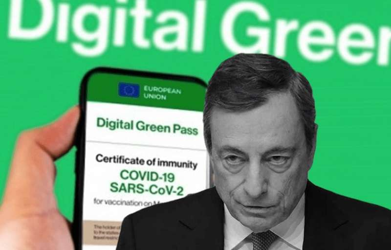 MARIO DRAGHI GREEN PASS