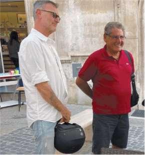 MASSIMO CARMINATI E SALVATORE BUZZI FIRMANO PER IL REFERENDUM SULLA GIUSTIZIA