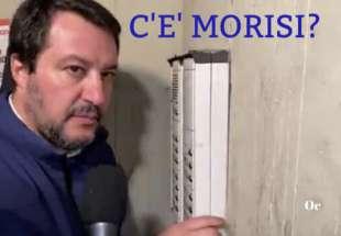 MATTEO SALVINI E LUCA MORISI MEME