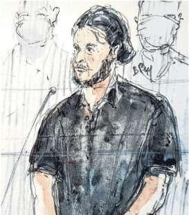 Salah Abdeslam in tribunale