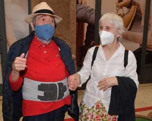 salvatore taverna con la moglie ginetta foto di bacco