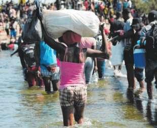 stati uniti migranti haitiani in texas 9