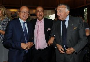 Antonio Verro Adriano Aragozzini e Pippo Marra