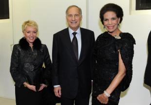 Linda e John R Phillips con Marisela Federici