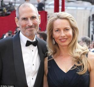 Steve Jobs e la sua ultima moglie