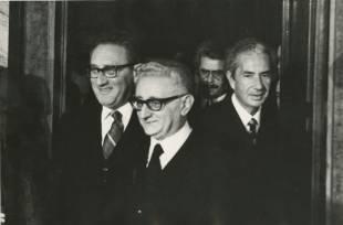 henry kissinger giovanni leone aldo moro rome 1975