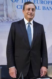 Mario Draghi a Napoli
