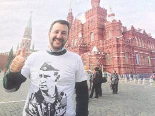 ml rodota twitta matteo salvini con maglietta putin