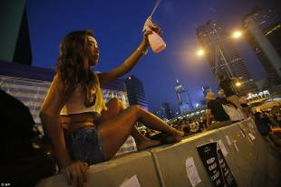 occupy central continuano le proteste di hong kong 2