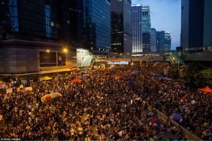 occupy central continuano le proteste di hong kong 3