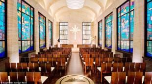la cappella della sede di scientology