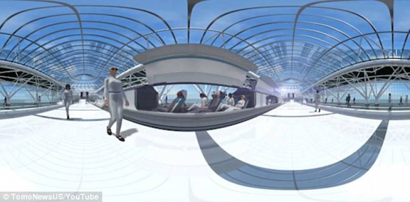Stazione hyperloop dago fotogallery for Hyperloop italia