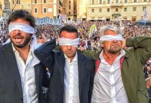 BEPPE GRILLO LUIGI DI MAIO ALESSANDRO DI BATTISTA