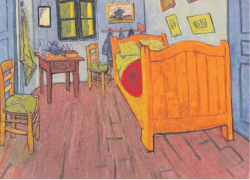 Vang gogh la camera da letto - Dago fotogallery