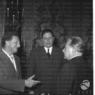 CARLO LEVI GIORGIO AMENDOLA E PALMIRO TOGLIATTI