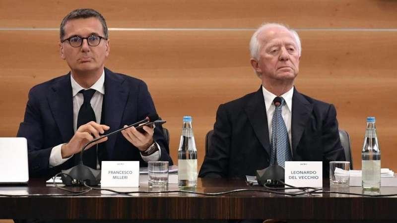FRANCESCO MILLERI LEONARDO DEL VECCHIO