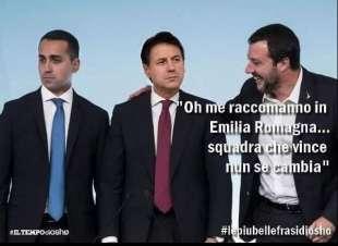 I MEME SULLE REGIONALI IN UMBRIA - DI MAIO - CONTE - SALVINI