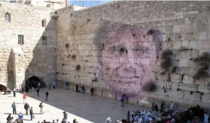 Risultato immagini per muro del pianto conte