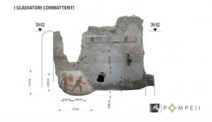 pompei gladiatori combattenti