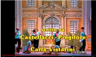 Castellacci Pignitore Vistarini autori titoli Rai