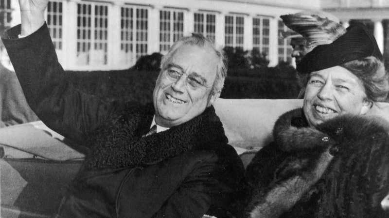 franklin d. roosevelt e la moglie