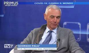 GIORGIO PALU OSPITE DI TV7 1