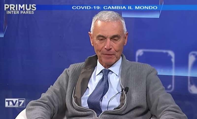 GIORGIO PALU OSPITE DI TV7