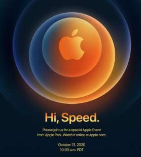 hi, speed evento apple 13 ottobre 2020