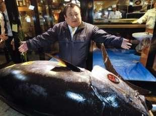 kiyoshi kimura e il tonno