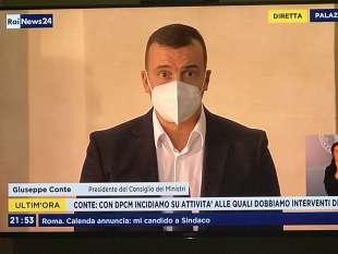 ROCCO CASALINO CONFERENZA STAMPA DI CONTE