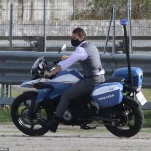 tom cruise a roma per mission impossible 7
